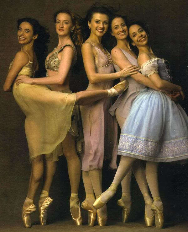 + ABT Current & former principals Alessandra Ferri, Gillian Murphy, Irina Dvorovenko, Julie Kent and Xiomara Reyes +