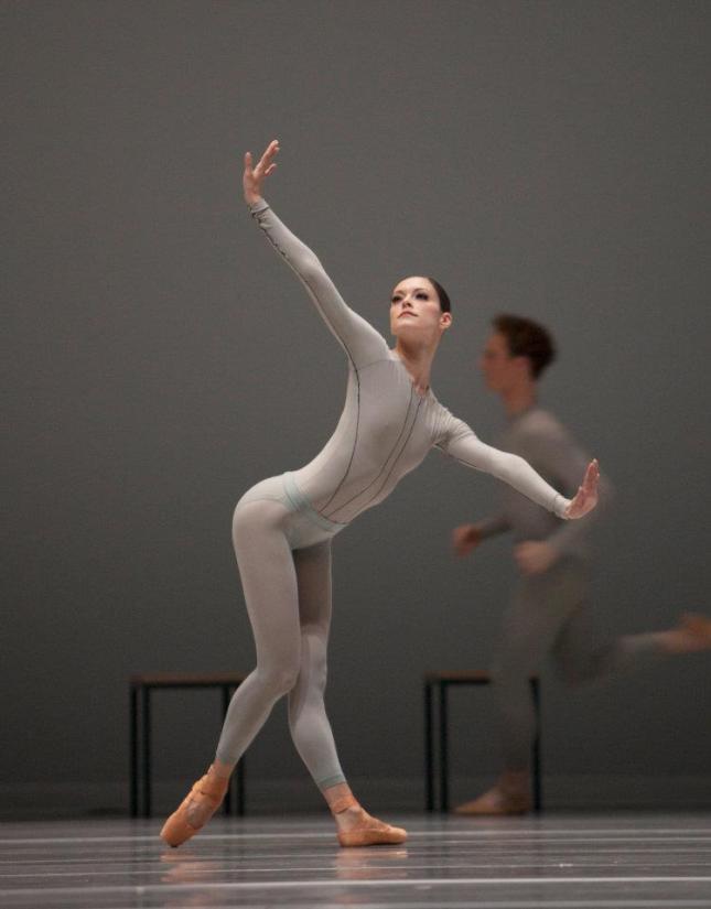 Het Nationale Ballet (Dutch National Ballet), Amsterdam, The Netherlands - The Second Detail (William Forsythe). Dancer Megan Zimny Gray (2)