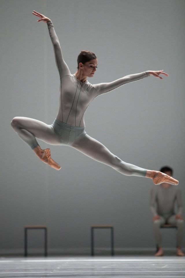 Het Nationale Ballet (Dutch National Ballet), Amsterdam, The Netherlands - The Second Detail (William Forsythe). Dancer Megan Zimny Gray