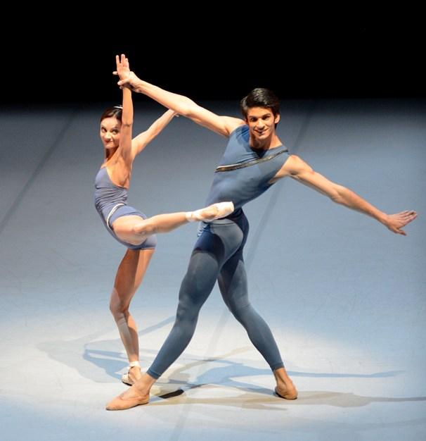 Maria Eichwald and Constantine Allen © Stuttgarter Ballett