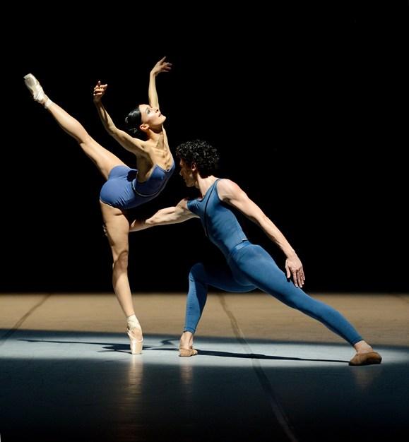 Myriam Simon and Damiano Pettenella © Stuttgarter Ballett