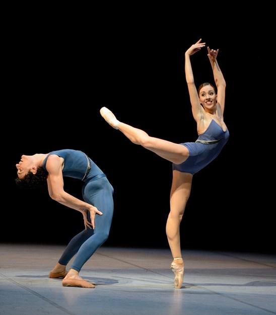 Rachele Buriassi and Damiano Pettenella © Stuttgarter Ballett