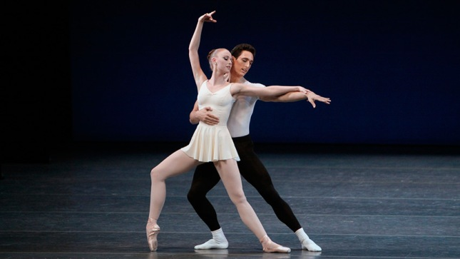 Teresa Reichlen and Justin Peck / © Paul Kolnik