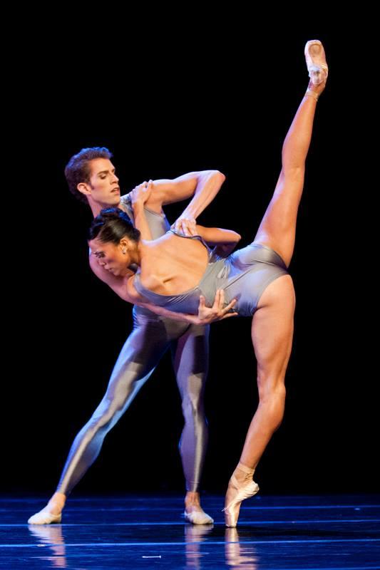 w Lia Cirio and Lasha Khozashvili, Boston Ballet at Lappeenranta Ballet Gala © Stanislav Belyaevsky