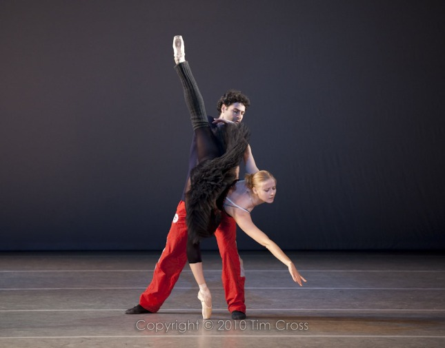 w Olga Esina and Inaki Urlezaga in the pas de deux from Don Quixote