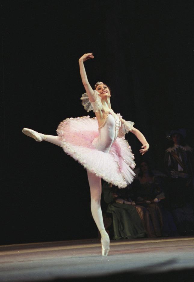 Svetlana Zakharova as Aurora in Sleeping Beauty