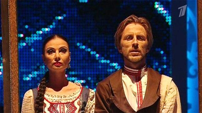 Yulia Makhalina and Povilas Vanagas
