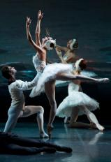 "Yekaterina Borchenko and Viktor Lebedev, ""Swan Lake"" / © Stas Levshin"