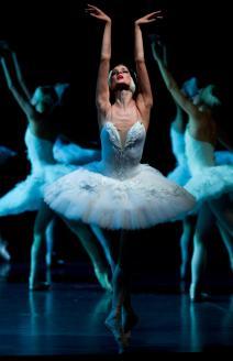 "Yekaterina Borchenko, ""Swan Lake"" / © Stas Levshin"