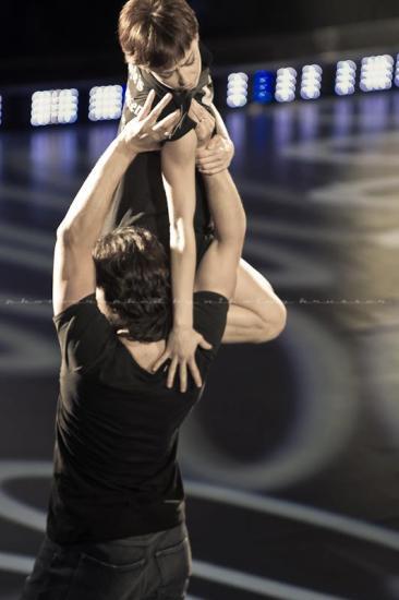 "Yekaterina Krysanova and Maxim Shabalin, ""Orange Love"" / © Nikolay Krusser"