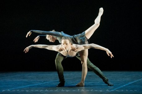 "Olga Semenova and Marat Shemiunov, ""Duende"", Mikhailovsky Ballet / © Nikolay Krusser"