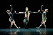 "Olga Semenova, Marat Shemiunov and Tatiana Miltseva, ""Duende"", Mikhailovsky Ballet / © Nikolay Krusser"