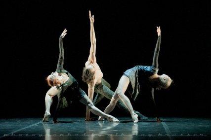 "Tatiana Miltseva, Marat Shemiunov and Olga Semenova, ""Duende"", Mikhailovsky Ballet / © Nikolay Krusser"