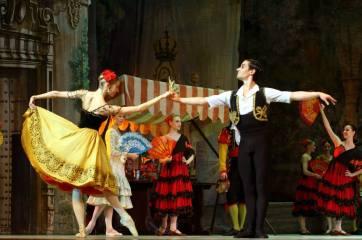 Valeria Pobedinskaya and Mikhail Martynyuk, «Don Quixote», The Kremlin Ballet