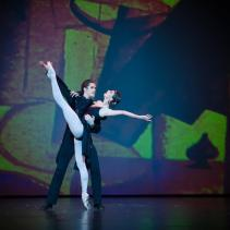 Anna Tikhomirova and Artem Ovcharenco, «Tango from Golden Age» - © Mark Olich