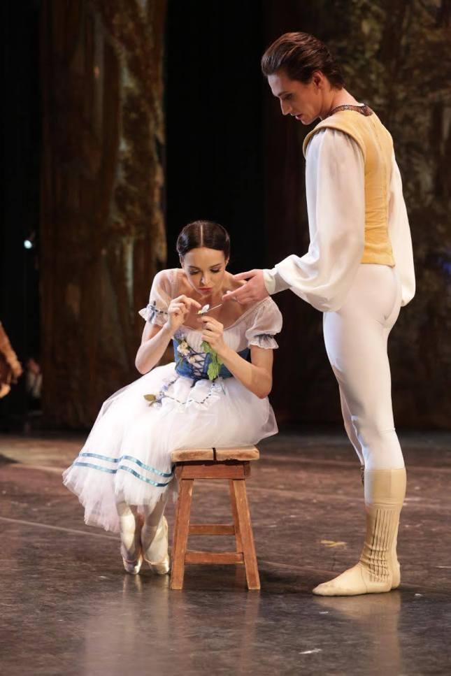 Diana Vishneva and Sergey Polunin, Mariinsky Ballet, 'Giselle' at  Stanislavsky Theatre