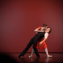 Kristina Kretova and Artem Ovcharenko, «Triangle» © Mark Olich