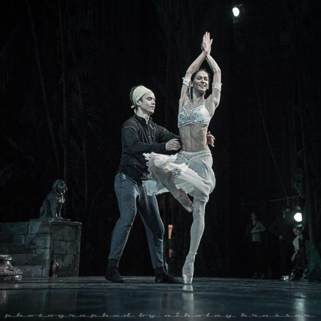 Polina Semionova and Leonid Sarafanov - © Nikolay Krusser
