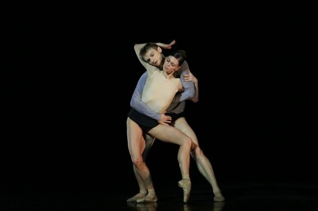 Anastasia Matvienko and Alexander Sergeyev © XIV International Ballet Festival Mariinsky