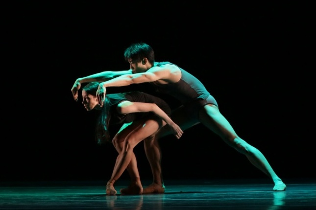 Viktoria Tereshkina and Kimin Kim © XIV International Ballet Festival Mariinsky
