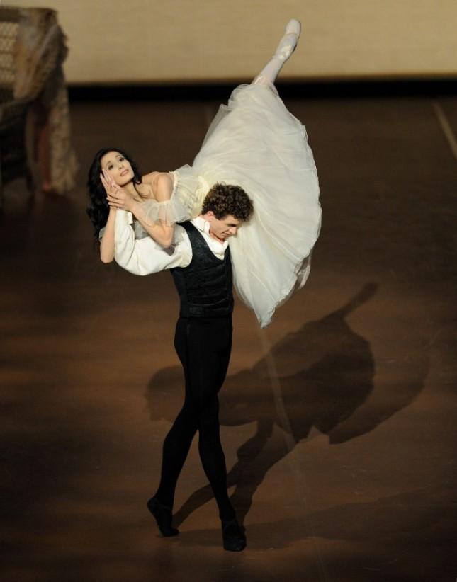 Myriam Simon and William Moore, Principal Dancer, Stuttgart Ballet