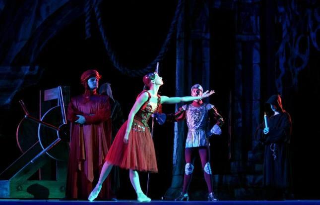 Alexandra Timofeeva, «La Esmeralda», The Kremlin Ballet (September 19, 2014)