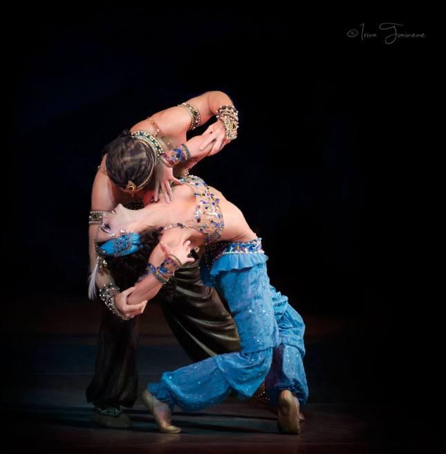Polina Semionova and Igor Zelensky, Scheherazade at the Mariinsky Theatre © Irina Tuminene