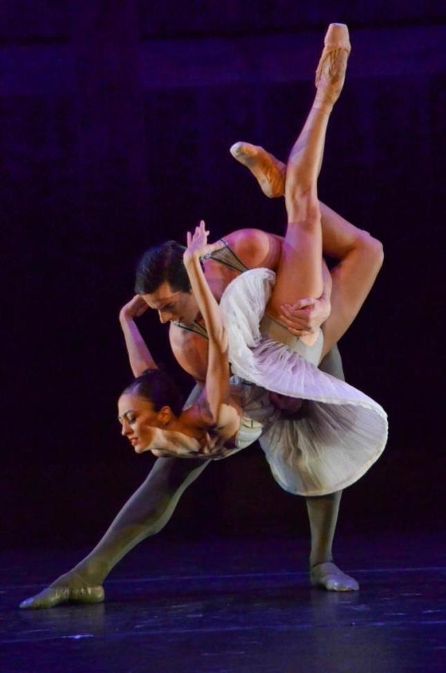 Victoria Jaiani and Miguel Blanco, Son of Chamber Symphony -  Photo by Christopher Duggan