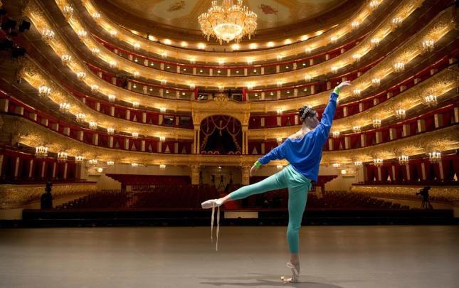 Maria Alexandrova. Bolshoi Theatre