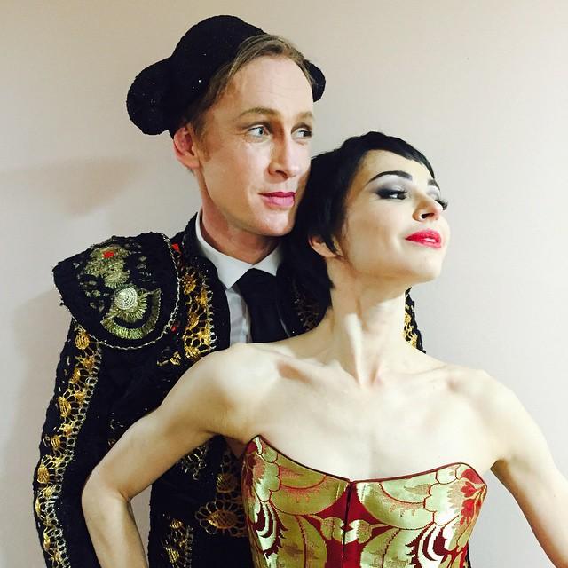 Diana vishneva and Igor Zelensky