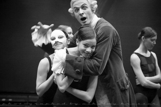 Julia Karimova, Olimpia Alfa and Marat Shemiunov - © Nikolay Krusser