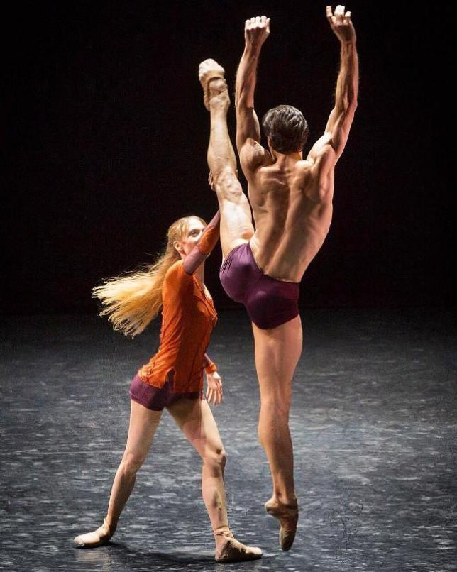 Alicia Amatriain and Roberto Bolle