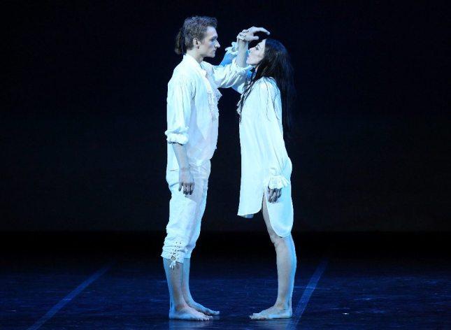 Viktoria Tereshkina and Alexander Sergeyev