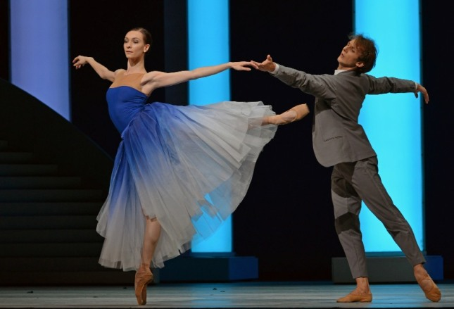 Olga Smirnova and Semyon Chudin - © Dave Morgan