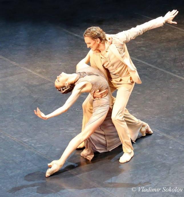 Maria Abashova and Sergei Volobuev - © Vladimir Sokolov Владимир Соколов