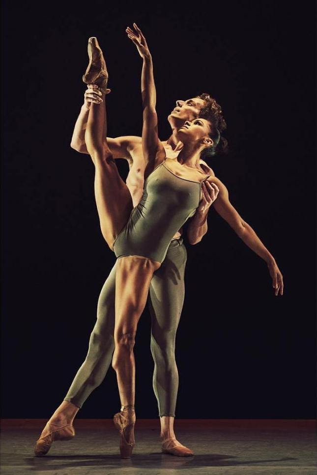 Misty Copeland and Blaine Hoven