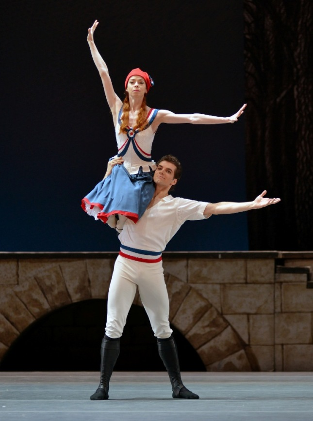 Yekaterina Krysanova and Igor Tsvirko - © Dave Morgan/Dance Tabs