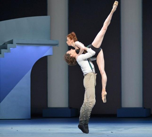 Yekaterina Krysanova and Vladislav Lantratov - © Dave Morgan