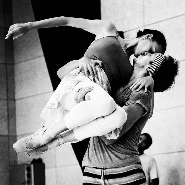 Olga Smirnova and Semyon Chudin - © Alice Blangero