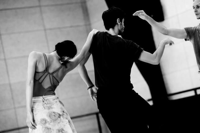 Olga Smirnova, Stephan Bourgond and Semyon Chudin - © Alice Blangero