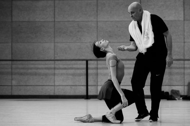 Olga Smirnova and Jean-Christophe Maillot - © Alice Blangero