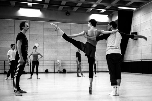 Olga Smirnova, Semyon Chudin and Uriagereka Asier - © Alice Blangero