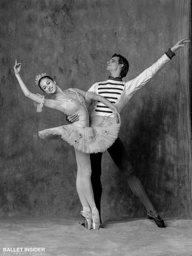 Anastasia Nikitina and Ivan Mikhalev - © Alexander Yakovlev for Ballet Insider