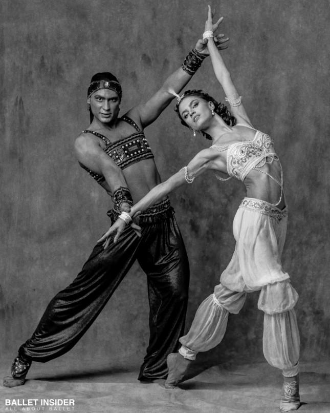 Maria Vinogradova and Ivan Vasiliev - © Alexander Yakovlev for Ballet Insider