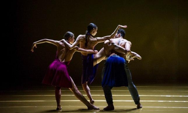 Francesca dell'Aria, Anna Khamzina and Cristian Alex Assis  - © Carlos Quezada/Ballett Zürich