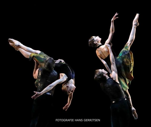 Vera Tsyganova, Jozef Varga, Anna Ol and Artur Shesterikov - © Hans Gerritsen