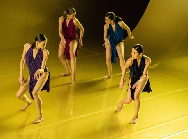 Anna, Francesca Dell'Aria, Constanza Perotta and Meiri Maeda - © Dmitry Khamzin Дмитрий Хамзин