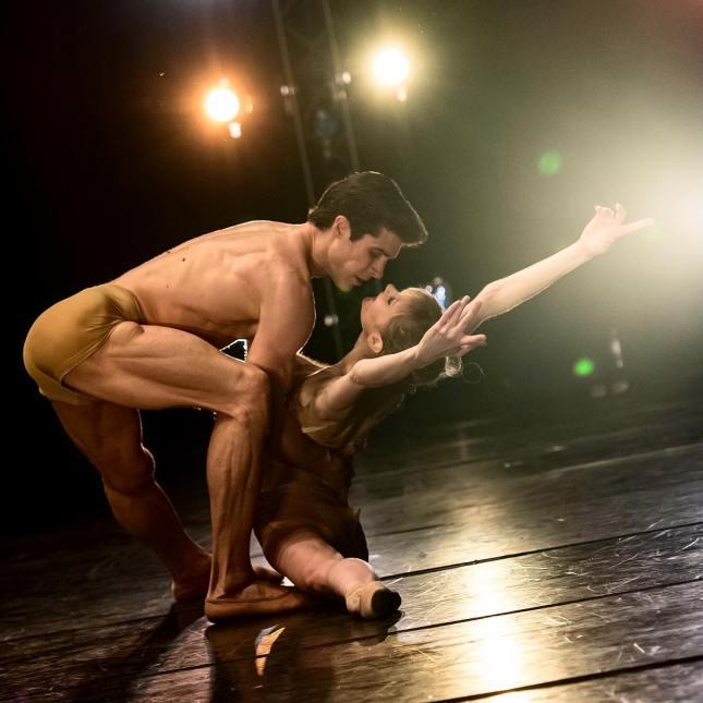 Melissa Hamilton and Roberto Bolle