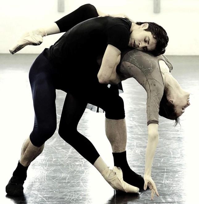 Svetlana Zakharova and Roberto Bolle