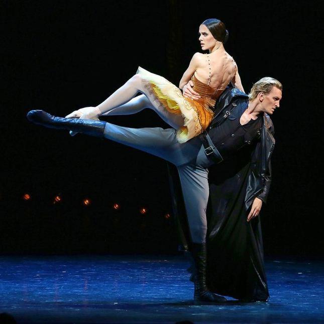 Maria Abashova and Sergei Volobuev